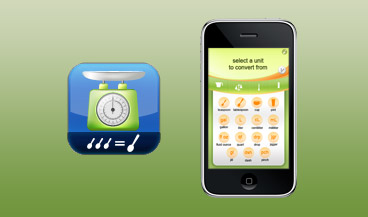 Exemple de design d'application mobile