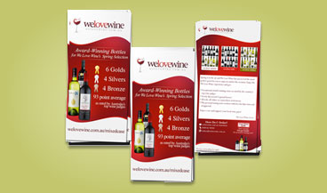 Postcard or flyer design example