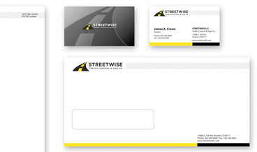 Stationery Design example