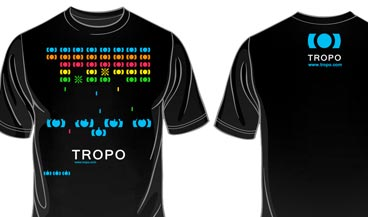 Exemple de design de t-shirt